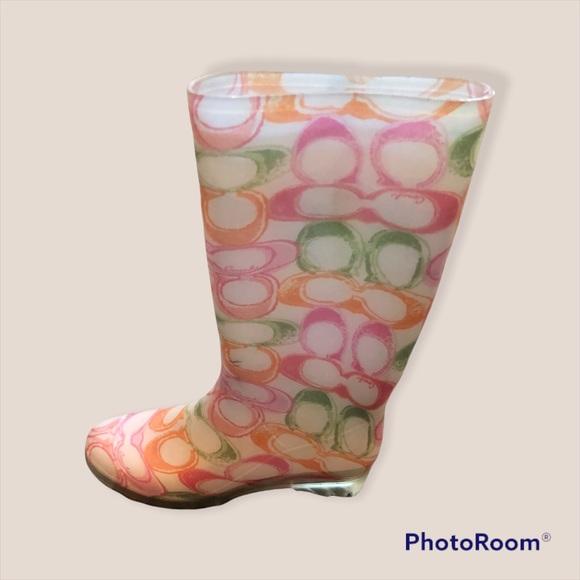 Coach Classic Rain Boots-Size 8